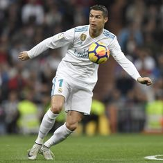 Ronaldo, Antoine Griezmann back among goals, both Madrid teams remain tied on third
