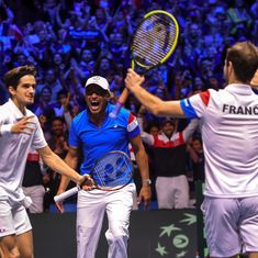 Davis Cup: Doubles gamble works as Gasquet-Herbert give France 2-1 lead over Belgium