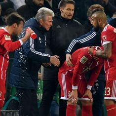 Bundesliga roundup: Bayern face first loss under Heynckes, Dortmund blow 4-goal lead