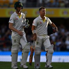 Australia on verge of winning first Test after England batting lineup implodes