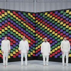 One band, 567 printers, and a lot of paper: Watch Ok Go's newer, even more innovative, music video