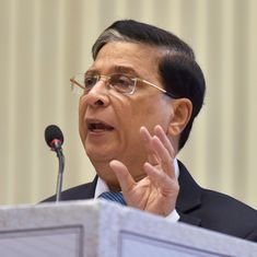 Opposition moves motion to impeach Chief Justice of India Dipak Misra