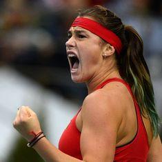 Mumbai Open: Sabalenka overpowers Jakupovic for first ever WTA singles crown