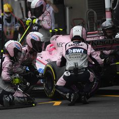 Force India cap most successful season with 187 points and fourth place