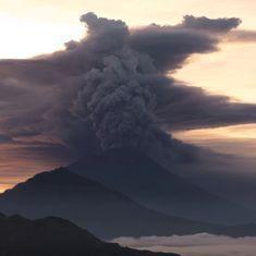 इंडोनेशिया : बाली में ज्वालामुखी फटने की आशंका, हजारों लोगों ने इलाका खाली किया