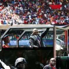 Kenya: Security stepped up, police and protestors clash as Uhuru Kenyatta sworn in as president