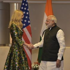 Hyderabad: Ivanka Trump meets Narendra Modi, Sushma Swaraj ahead of Global Entrepreneurship Summit