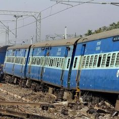 Senior railway officer suspended for Uttar Pradesh train derailment