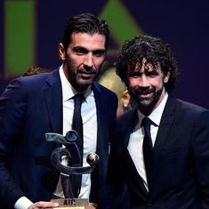 Italy legend Gianluigi Buffon wins Serie A Best Player award