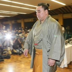 Japanese Sumo champion's retirement over attack on rival triggers reaction from PM Shinzo Abe