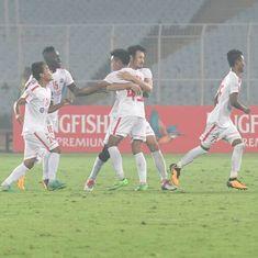 Despite exodus, Aizawl's match against East Bengal showed their spirit is still intact