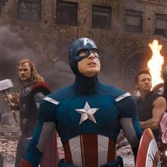Watch: 'Avengers: Infinity War' is one crowded house