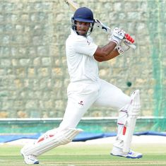 Mayank Agarwal smashes 90, serves timely reminder to selectors in warm-up tie against West Indies