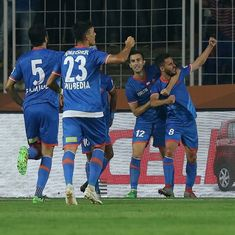 ISL: Corominas nets a hat-trick as FC Goa beat 10-man Bengaluru FC 4-3 in a thrilling game