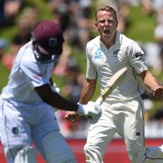 Neil Wagner's career-best 7/39 helps New Zealand dominate day one against West Indies