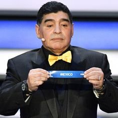 'I am fine and not hospitalised': Maradona after health scare during Argentina's clash with Nigeria