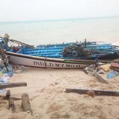 In photos: Strong winds reach Minicoy island, Cyclone Ockhi likely to inundate parts of Lakshadweep