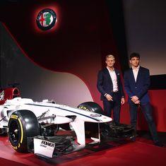 Formula One: Alfa Romeo Sauber unveil new car, drivers for 2018 season