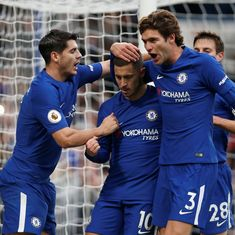 Hazard inspires Chelsea's comeback as they beat Newcastle United 3-1