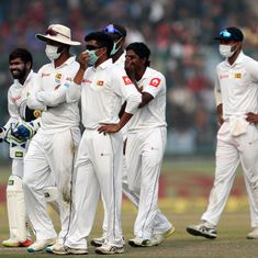 Controversy at the Kotla: Sri Lankan players struggle with pollution in Delhi