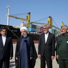 Iranian President Hassan Rouhani inaugurates Chabahar Port developed by India