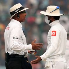 'If 20,000 people in the stands did not have a problem, why did Sri Lanka?': BCCI President