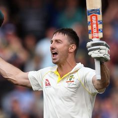 Marsh's unbeaten 126 puts Australia on top at Adelaide