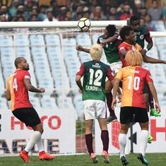 Kingsley's first-half header helps Mohun Bagan win the Kolkata Derby