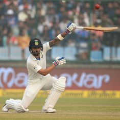 Virat didn't need pollution mask to bat nearly two days: Arun takes a dig at Sri Lanka