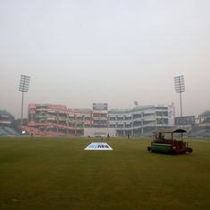 Delhi's prevalent air pollution a cause for concern ahead of India's T20I against Bangladesh