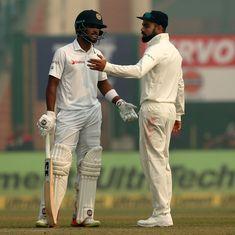 'It was tough': Sri Lanka Test skipper Dinesh Chandimal on playing in smog-hit Delhi