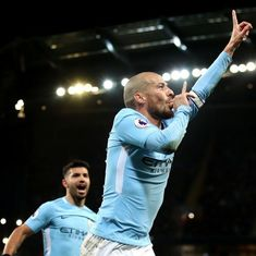 Manchester City forward David Silva absent because of prematurely-born baby boy