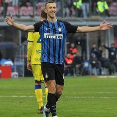 Ivan Perisic slams hat-trick to send Inter Milan on top of Italian Serie A