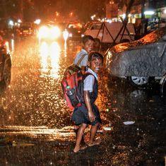 Cyclone Ockhi moves north: High tide hits Goa shacks, schools shut in Mumbai