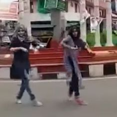 Watch: A group of Muslim girls performed a flash mob and got trolled online by fundamentalists