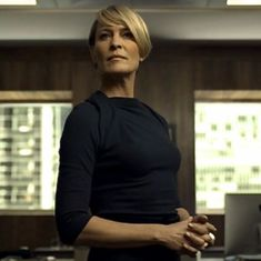 With Kevin Spacey out, final 'House of Cards' season will lead with Robin Wright
