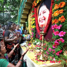 Tamil Nadu: AIADMK workers mark Jayalalithaa's first death anniversary with silent march
