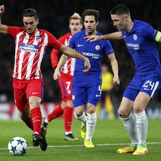 Champions League: Atletico Madrid crash out, Chelsea sink to second place after 1-1 draw