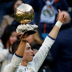 Ronaldo favourite to win Ballon d'Or, set to equal Messi's record of five titles
