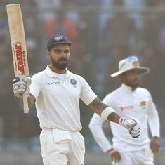 Kohli says he discovered a new facet of his batting – hitting the ball in Tests like ODIs