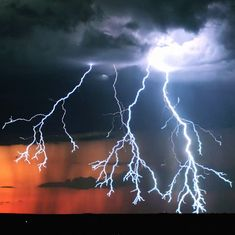 Mesmerising slow-motion video captures the terrifying beauty of lightning