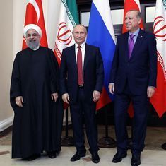 As the Russia-Iran-Turkey alliance expands, the US is reconciled to a lower profile