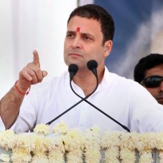 Congress respects the prime minister's post, but Modi can use any language against us: Rahul Gandhi