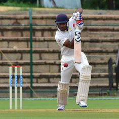 Vijay Hazare Trophy: Ton-up Agarwal, Samarth power Karnataka to semis, Maharashtra outclass Mumbai