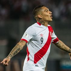 Fifa slaps Peru captain Paolo Guerrero with a one-year ban for failing a drug test