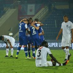 ISL: Bengaluru FC record first away win thanks to Miku's second half strike against NorthEast