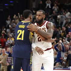 NBA roundup: Pacers snap the Cavaliers' league-leading 13-game win streak