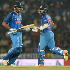 In Kohli's absence, onus will be on Rohit, Rahane to prop up India's batting during Sri Lanka ODIs