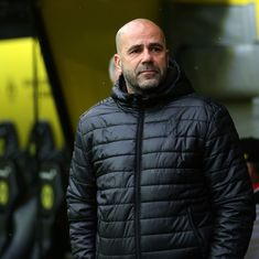 Peter Bosz set to be sacked after Borussia Dortmund's latest failure