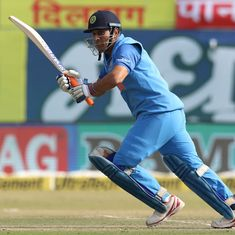 In elite company: MS Dhoni becomes fourth Indian to score 10,000 ODI runs